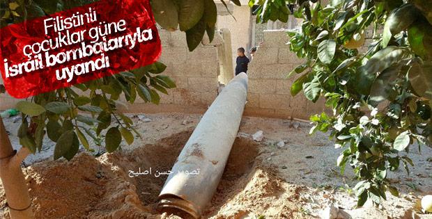 İsrail'den Gazze'ye füzeli saldırı