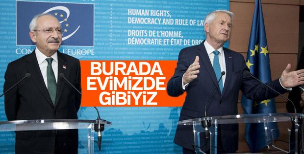 Kılıçdaroğlu-Jagland görüşmesi