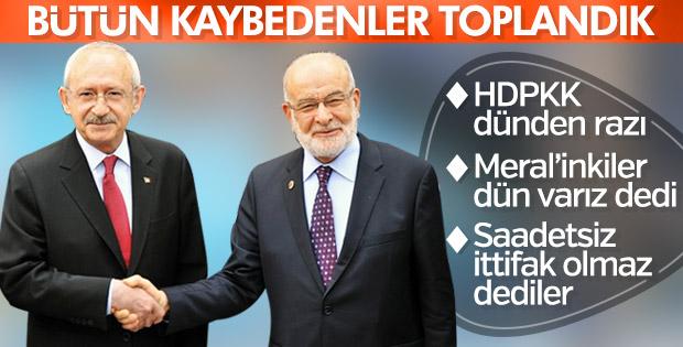 CHP'nin ittifak görüşmeleri devam ediyor