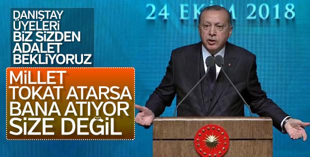 Erdoğan'dan Danıştay'a tepki