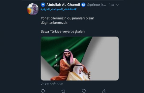 Suudiler Türkiye'yi boykot ediyor