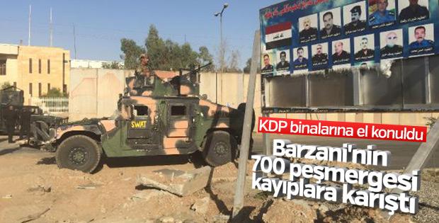 Kerkük'teki KDP binaları SWAT komandoların kontrolünde