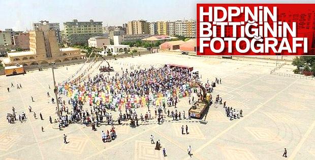 Mardin'de HDP'nin miting hüsranı
