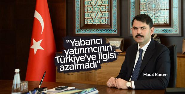 Kurum: Yabancı yatırımcının Türkiye'ye ilgisi azalmadı