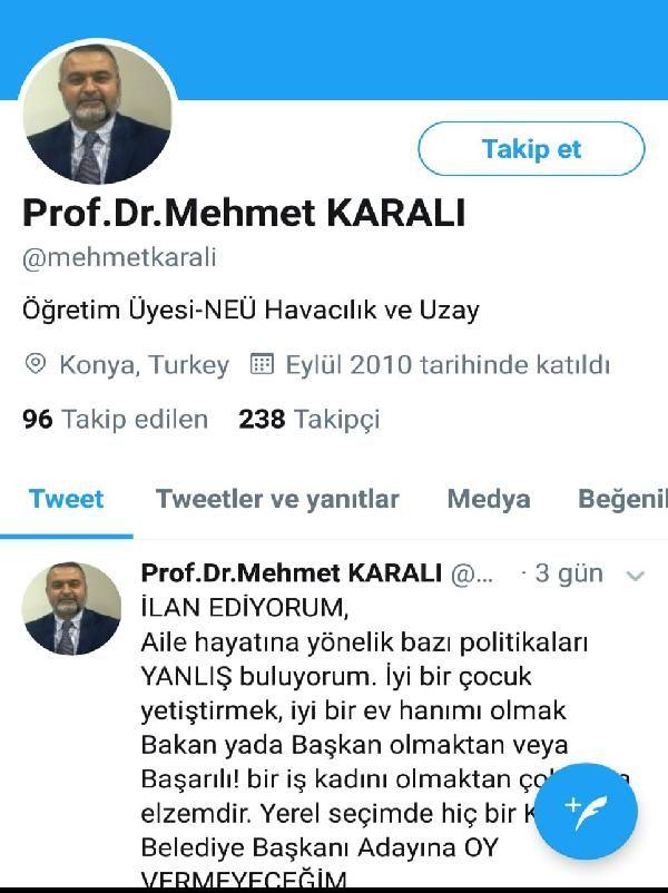 Kadın düşmanı profesör istifa ettim diyor