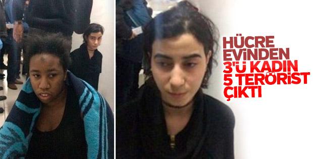 Reina saldırganının yakalandığı evden çıkan teröristler