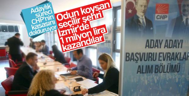 CHP İzmir'deki aday adaylarından 1 milyon lira kazandı