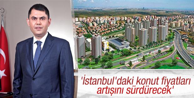 İstanbul'daki konut fiyatları artışını sürdürecek