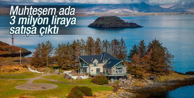 İskoçya'daki ada 3 milyon liraya satışa çıkarıldı