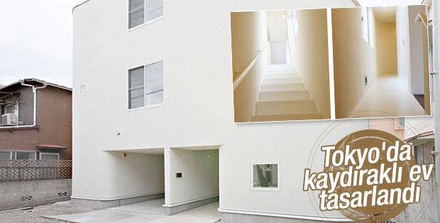 Tokyo'da sıradışı bir ev tasarlandı