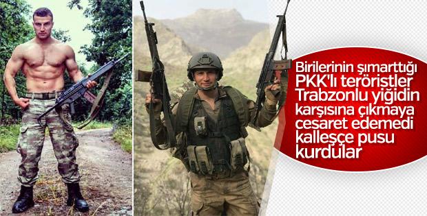 Trabzonlu Şehit Uzman Çavuş Baştan'ın son mesajı