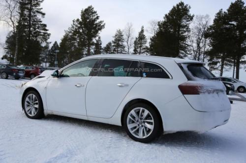 2016 Opel Insignia deşifre oldu