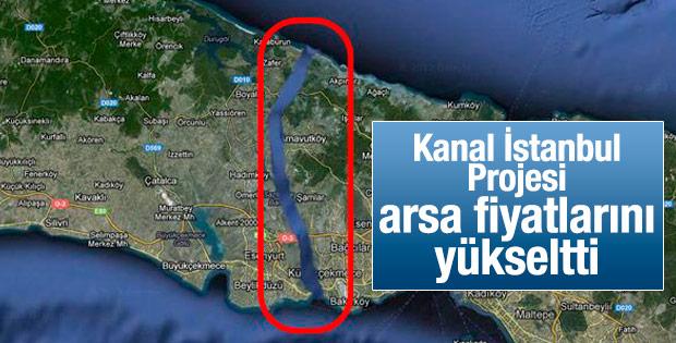 Kanal İstanbul arsa fiyatlarını artırdı