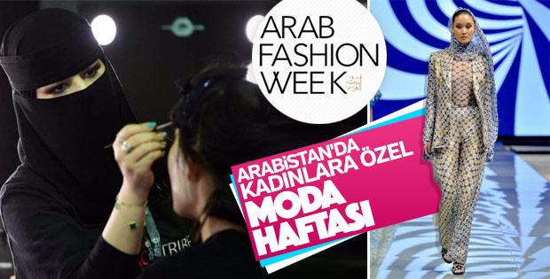 Suudi Arabistan'da moda haftası