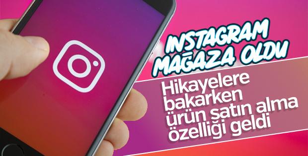 Instagram'da hikayeler üzerinden satış yapılacak