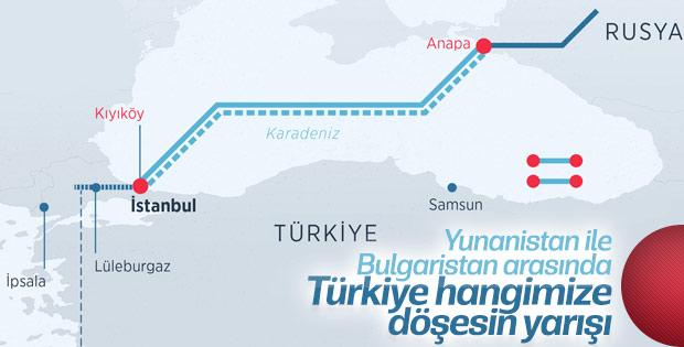Yunanistan ile Bulgaristan'ın Türk Akımı yarışı