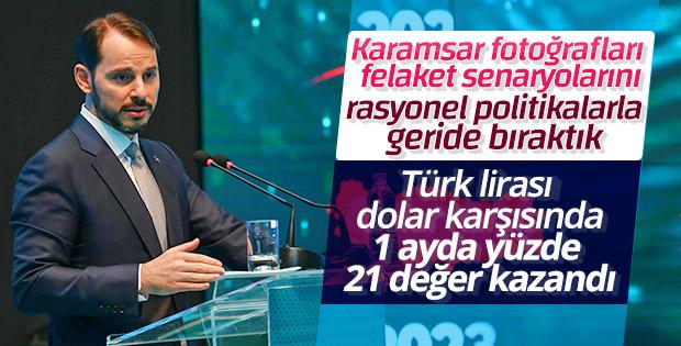 Bakan Berat Albayrak BRICA İstanbul Zirvesi'nde