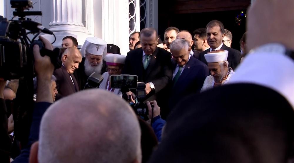 Cumhurbaşkanı Erdoğan Demir Kilise'nin açılış töreninde
