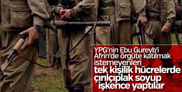 PKK'nın Afrin'deki işkence odaları