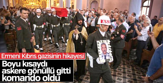 Ermeni Kıbrıs gazisi askere gönüllü komando olarak gitmiş
