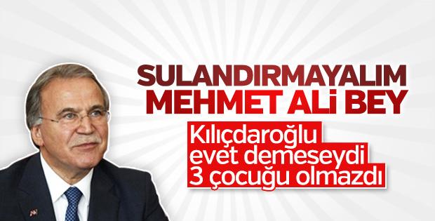 Mehmet Ali Şahin'in bir garip 'evet' çıkışı
