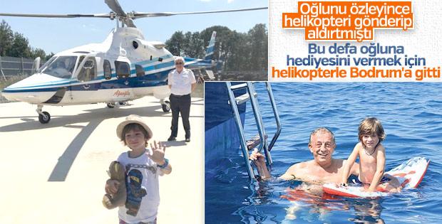 Ağaoğlu Bodrum'da Ali Ege'ye sürpriz yaptı