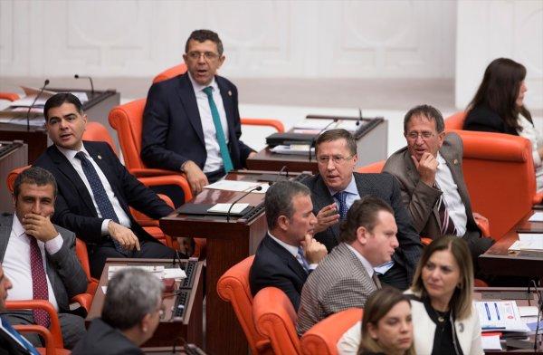 Meclis'te İYİ Parti ile HDP arasında 'Öcalan' tartışması