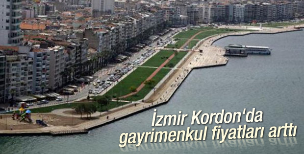 İzmir Kordon'da gayrimenkul fiyatları arttı