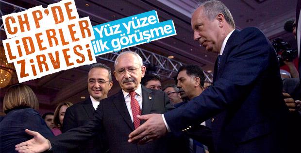 Muharrem İnce - Kemal Kılıçdaroğlu görüşmesi