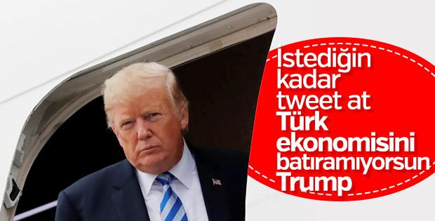 Trump Türkiye'ye tehditlerini sürdürüyor