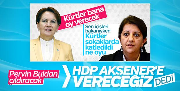 HDP, Meral Akşener'e oy vermeye yeşil ışık yaktı