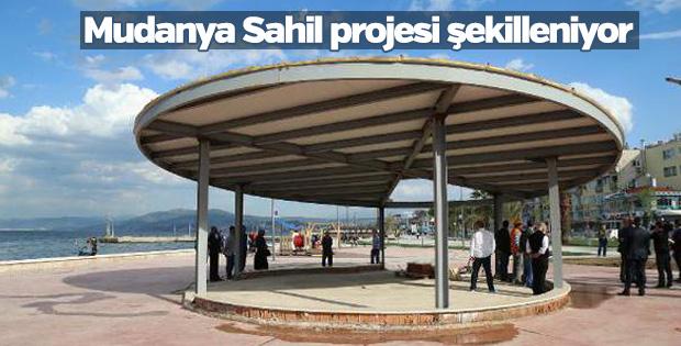 Mudanya Sahil projesi şekilleniyor
