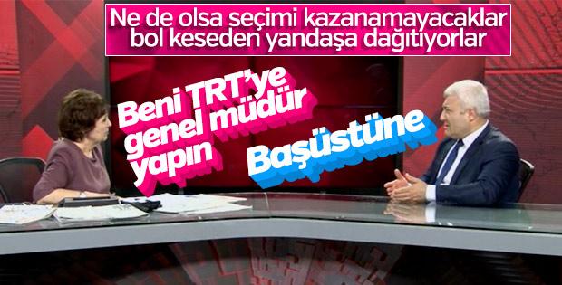 CHP Halk TV'de torpil sözü verdi