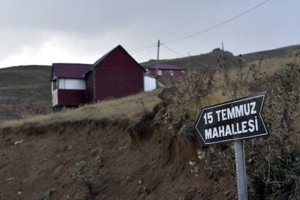 Kaçak yapıların olduğu bölgeye 15 Temmuz adını verdiler