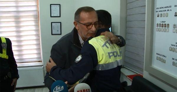 Fatih Altaylı hakaret ettiği polisten özür diledi