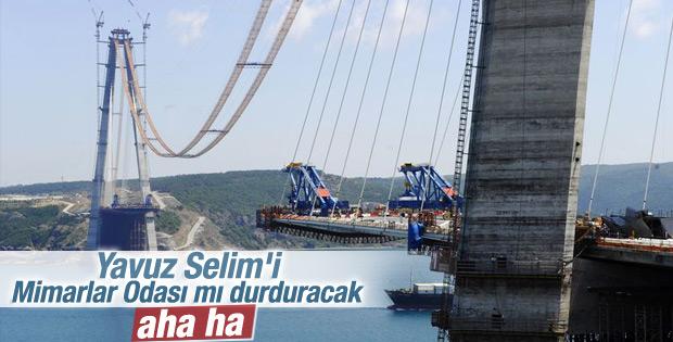 Yavuz Sultan Selim Köprüsü'nde sona yaklaşılıyor