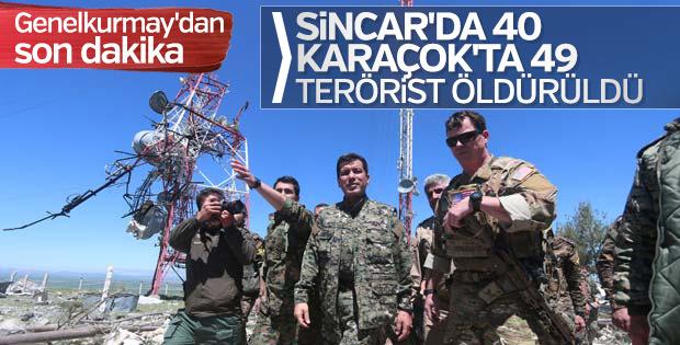 Sincar ve Karaçok'ta operasyonlar