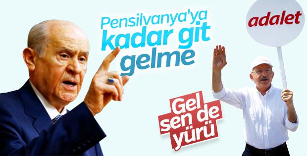 Kemal Kılıçdaroğlu İstanbul yürüyüşünün 8. gününde