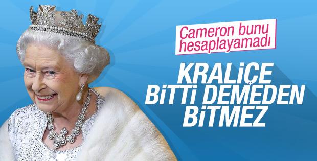 İngiltere'de AB'den ayrılma kararına Kraliçe etkisi