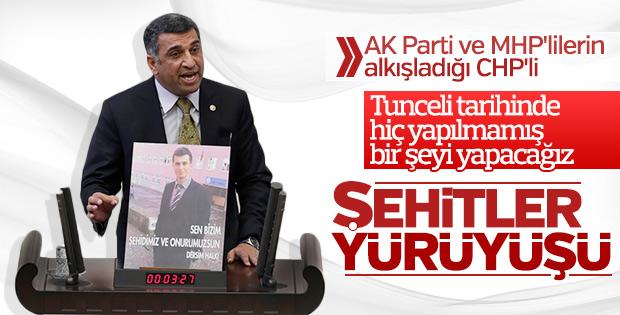 Tunceli'de 'teröre hayır' yürüyüşü düzenlenecek