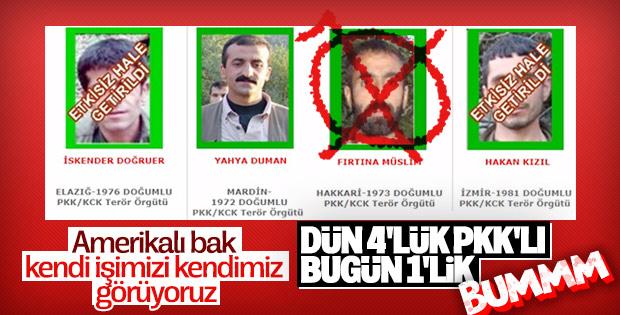 Şırnak'ta yeşil kategorideki terörist öldürüldü