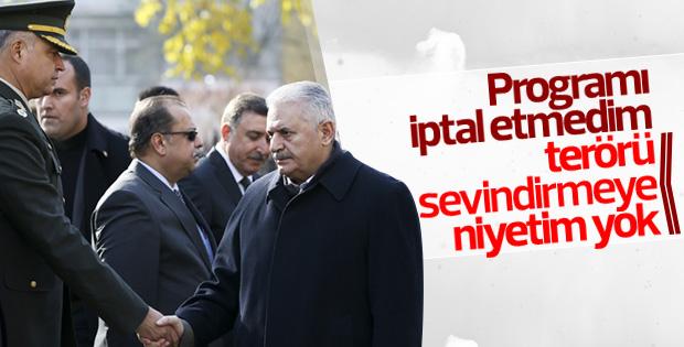 Başbakan Yıldırım'dan saldırıyla ilgili ilk açıklama