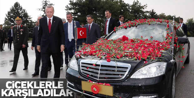 Erdoğan, yemin için Meclis'te