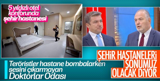 Türk Tabipler Birliği'nin hedefi şehir hastaneleri