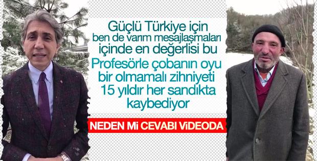 Mustafa Demir'den EVET kampanyasına anlamlı destek