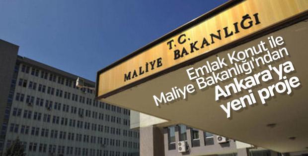 Emlak Konut ve Maliye Bakanlığı'ndan Ankara'da yeni proje