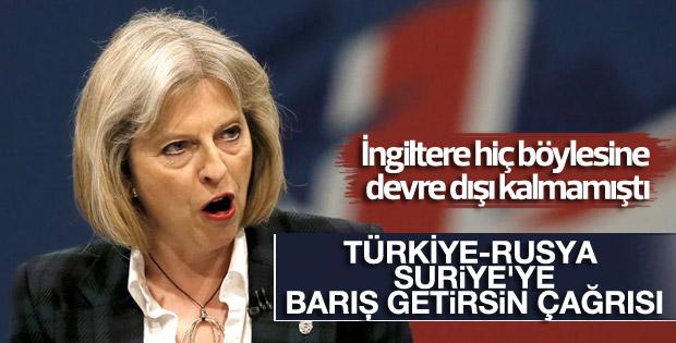 İngiltere Başbakanı May'den Türkiye ve Rusya'ya çağrı