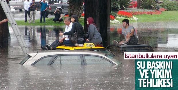İstanbul için yağış uyarısı yapıldı