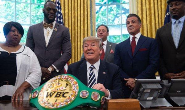 Trump Putin ile boks maçına çıkmayı reddetti