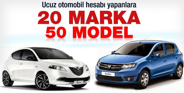 35 bin TL'den ucuz otomobiller